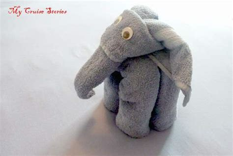 how to fold a towel elephant cruise stories