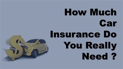 Car Insurance Personal Injury 2 by Auto Insurance Coverage How Much Car Insurance Do You