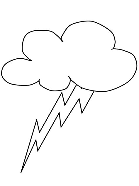 lightning bolt coloring pages cliparts co