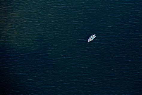bow of his boat aerial views from high above maine the portland press