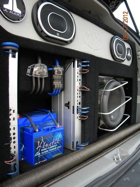 jl audio mini van car audio car audio installation