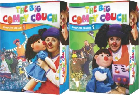 the big comfy couch season 1 the big comfy couch complete seasons 1 2 new dvd season 1