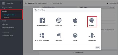 fb login android facebook sdk login facebook cho ứng dụng android lập