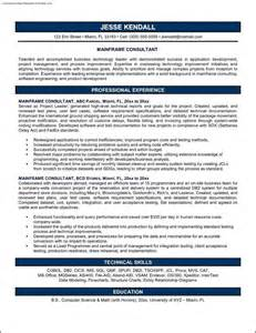 consulting resume resume format download pdf