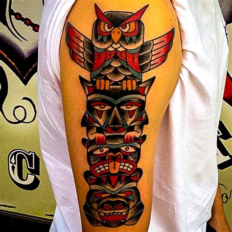 totem tattoo designs 1000 ideas about totem pole on