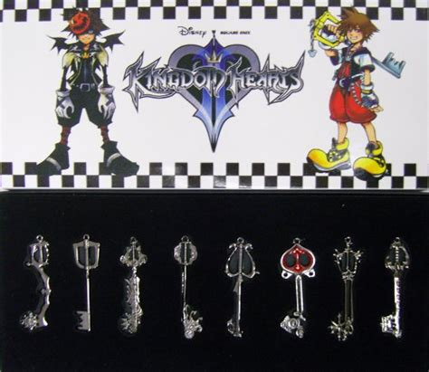 Walt Disney Kingdom Hearts Iphone Semua Hp kingdom hearts ii keyblade pendant necklace set 2 sora 10 95