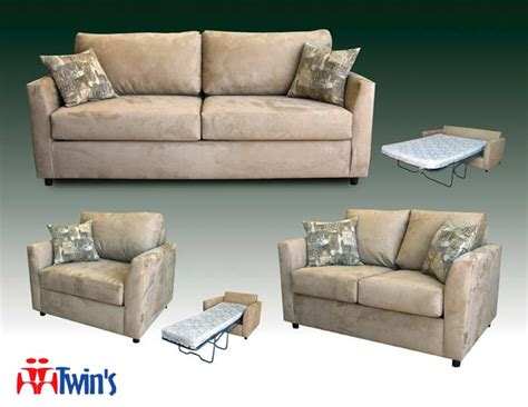t 3040 sofa and love seat with optional sleeper twins t 3041 sofa love seat and chair with optional sleeper