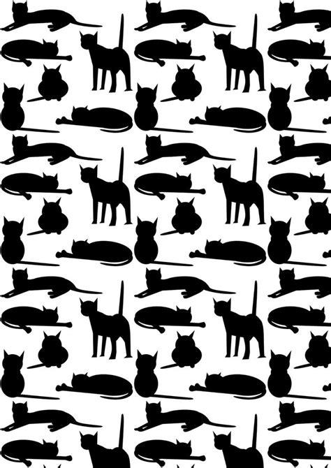 black pattern paper 25 unique cat pattern ideas on pinterest black cat