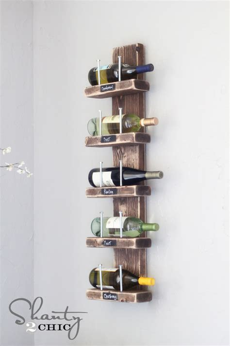 How To Build A Wine Rack Shelf by Wall Mounted Wine Racks 187 Inoutinterior