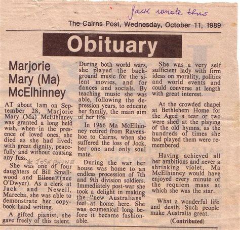 free obituary programs