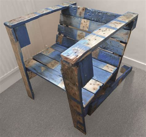edward dale harris recycled furniture