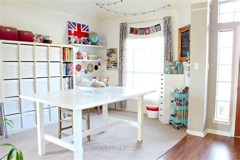 craft room craft room reveal taylormade