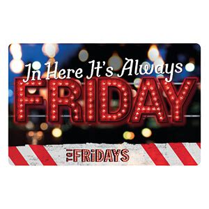 Fridays Gift Cards - tgi fridays vouchers gift cards free p p order up to 163 10k