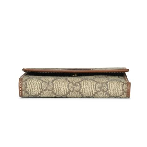 Wallet Gucci Canvas 5521a second gucci monogram canvas wallet the fifth collection