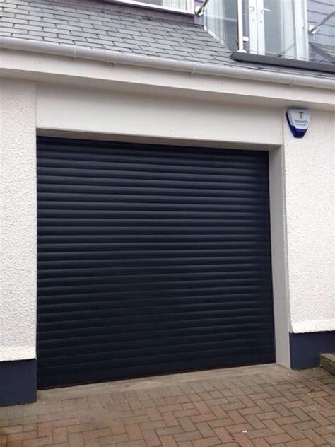 sws seceuroglide roller shutter door installed at carbis