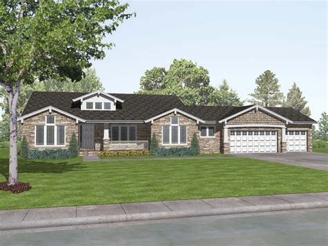 Craftsman Style Ranch Home Plans | craftsman style ranch house plans rustic craftsman ranch