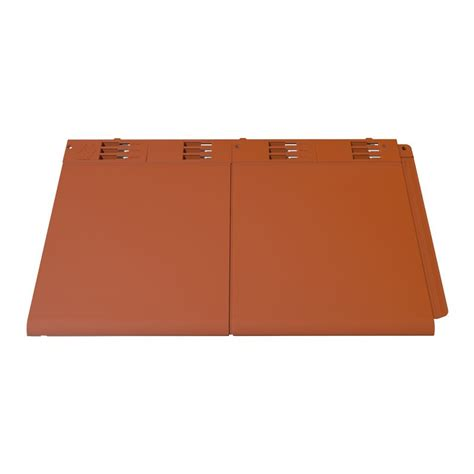 lightweight roof tiles envirotile plastic lightweight tile in terracotta pack of 10 roofing superstore 174