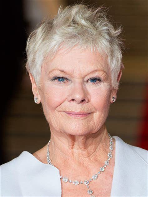 how to style judi dench pixie pixie dust chagne living