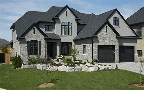 gray stone house grey stucco and stone homes exterior colors grey and google on pinterest houses