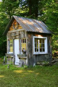 Backyard Shed Office Plans Lady Anne S Cottage More Charming Garden Sheds