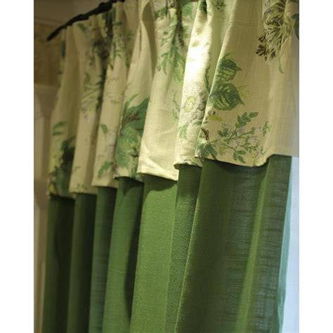 patterned linen curtains emerald green patterned linen elegant pastoral curtains
