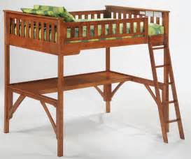 and day loft bed cherry bedroom furniture