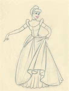 cinderella pencil drawings images