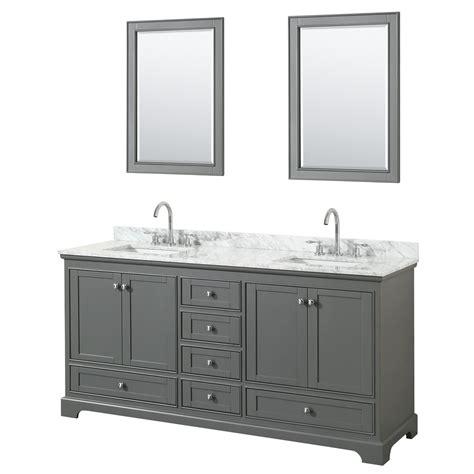 dark gray bathroom vanity deborah 72 quot double bathroom vanity by wyndham collection