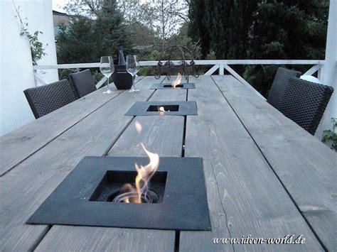 tisch mit feuerstelle garten gartenm 246 bel gartentich tisch mit feuerstelle