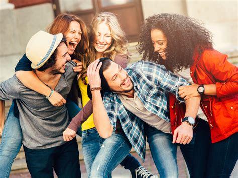 imagenes de grupos alegres o segredo da alegria