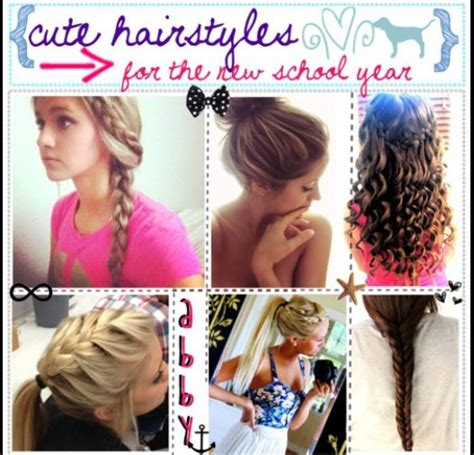 Cute Hairstyles To Wear To School | hairstyles to wear to school cute hair pinterest