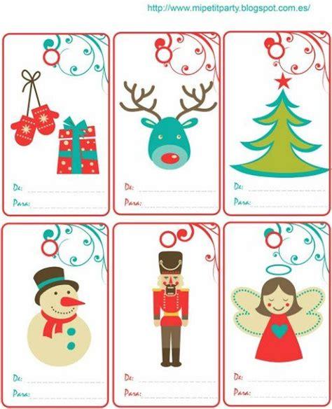 tarjetas de navidad interesantes e impresionantes m 225 s de 25 ideas incre 237 bles sobre etiquetas de regalos de