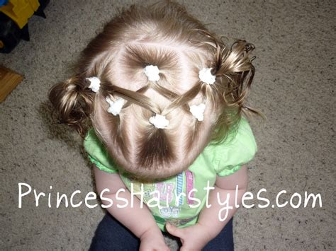 Hairstyles For Babies by Hairstyles For Baby Hairstyles Criss Cross Pigtails