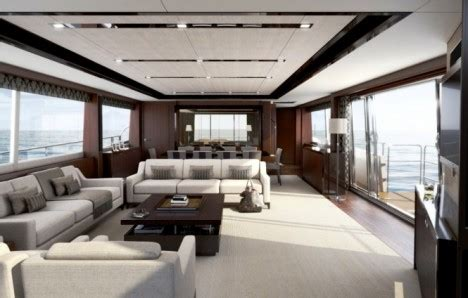 motor boat with living accommodation lvmh debuts m class princess superyachts high living