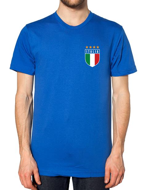 Shed Clothing by Retro Italy Football T Shirt The Clothing Shed