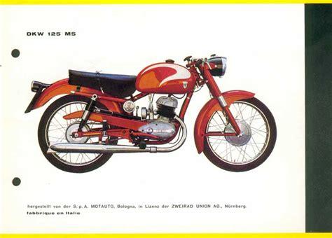 Motorrad Rt 125 by Rt 125 Italien Dkw Motorrad Club