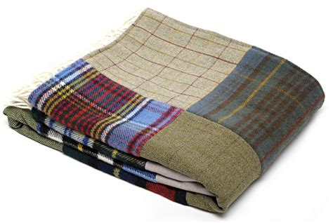 Patchwork Throws Uk - wool blanket made gifts patchwork
