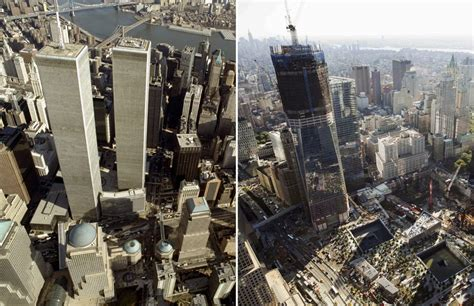 imagenes fuertes atentado torres gemelas en fotos la ciudad de nueva york diez a 241 os despu 233 s del 11 s