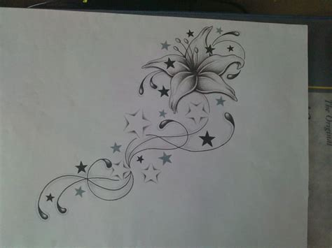 flowing tattoo designs i like this idea with my exsiting cupcake at the top