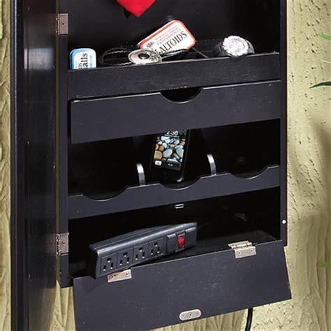 wall mount charging station wall mount valet with charging station 203826 housekeeping storage at sportsman s guide