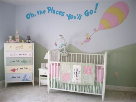 overhead fan in baby room dr seuss nursery design dazzle