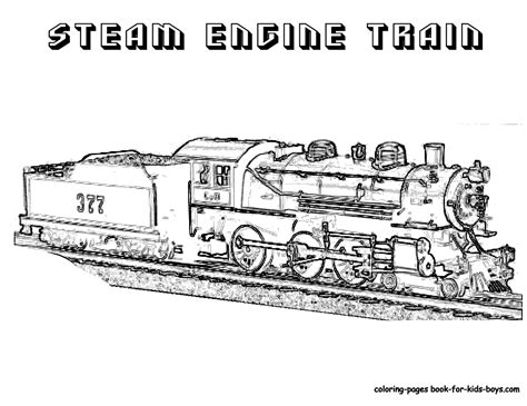 coloring pages trains steel wheels coloring sheet yescoloring free