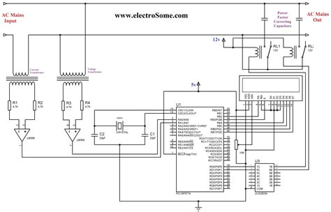 power factor correction capacitor wiring diagram fixed