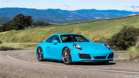 miami blue porsche wallpaper 2017 porsche 911 s color miami blue us spec