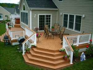 Deck Stairs Design Ideas Building The Beautiful Decks Designs Interior Design Ideas