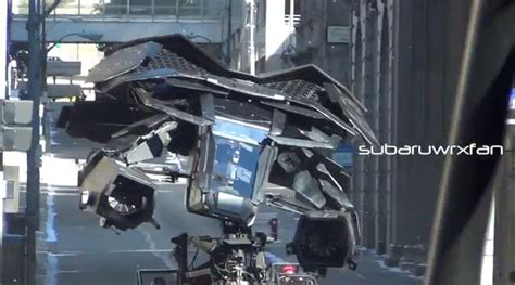 S Batwing batwing spotted on set of batman the rises autoevolution