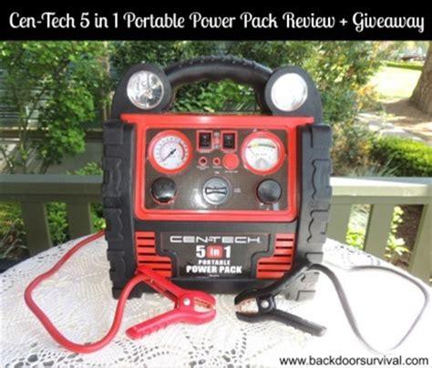 Jumper Pendek Pack 5in1 cen tech 5 in 1 portable power pack review backdoor survival