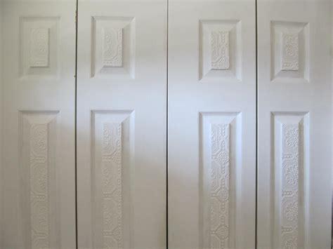 Wallpaper Closet Doors Wallpapering A Closet Wallpapersafari