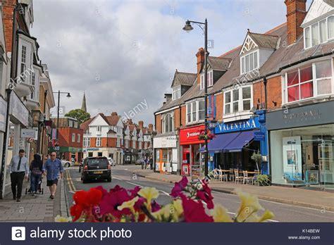 High Street British Companies United Kingdom Uk | surrey uk businesses stock photos surrey uk businesses