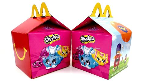 Happymeal Mac Donalds Karakter 3 2016 mcdonald s shopkins happy meal box set of 16